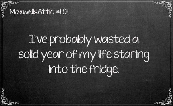 Time at fridge