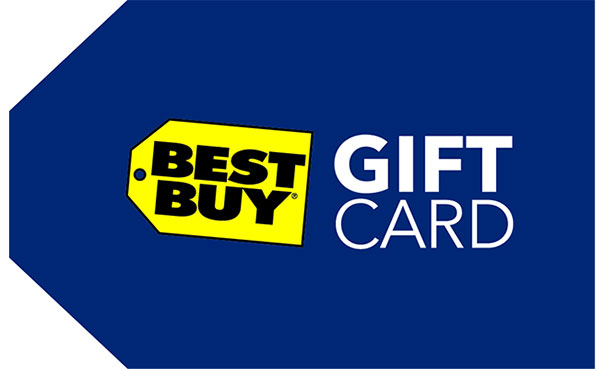A $100 Best Buy Gift Card