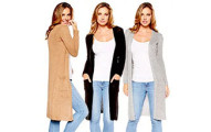 Stylish Long Knit Cardigan