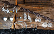 9-Piece Set: Essential Sterling Silver Earrings