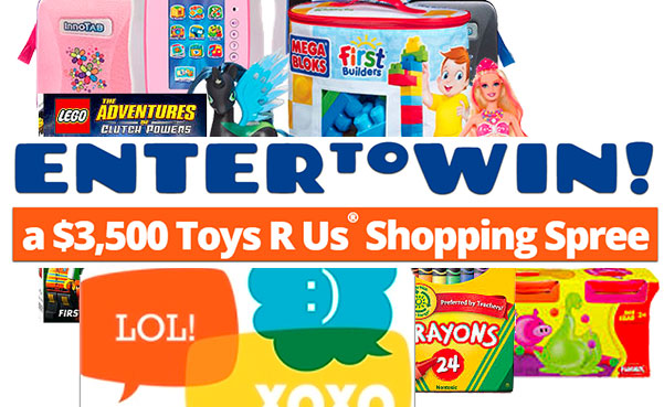 $3500 Toys r us shopping spree
