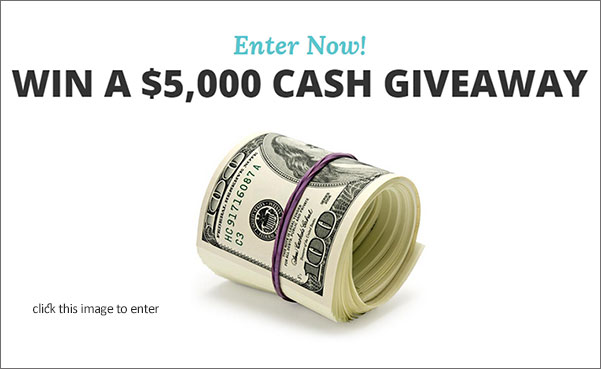 Enter to win a 5 000 cash giveaway maxwell 39 s attic for Enter now to win