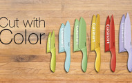 cuisinart colored Knives