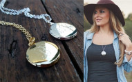 engravde locket
