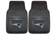 FANMATS NFL 2 Piece Vinyl Car Mat Sets