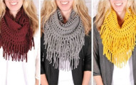 Jane Fringe Scarves