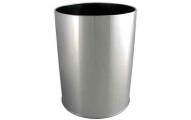Chrome Waste Basket