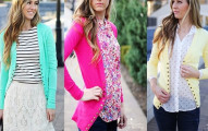 Jane Perfect Spring Long Button Cardigans