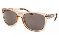 Kenneth Cole Reaction Women's Square Translucent Beige Sunglasses