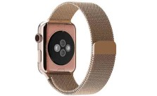 Rose Gold Apple Watch band