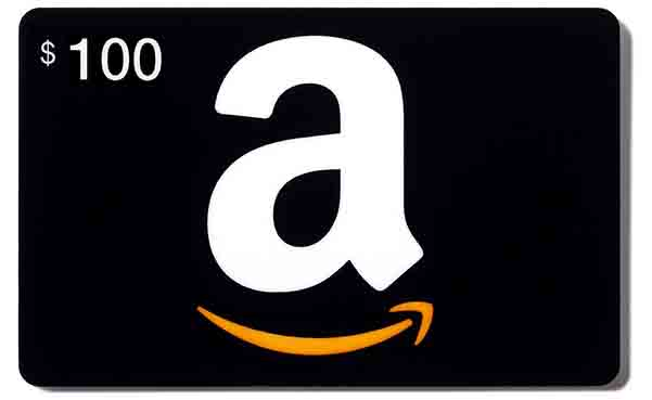 A $100 Amazon Gift Card