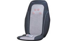 Back Massage Mat Cushion Chair Seat Car Heated Heater Lumbar Massager Shiatsu