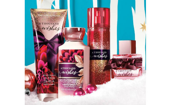 Bath and Body Works Samples