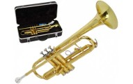 Beginner's Golden Trumpet with Hard Case