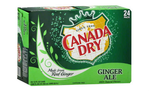 Canada Dry Ginger Ale For A Year