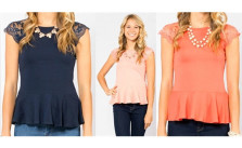 Jane Peplum Top