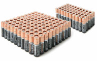 80-Pack Duracell Batteries: 60 AA & 20 AAA