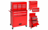 BCP Portable Top Chest Rolling Tool Storage Box