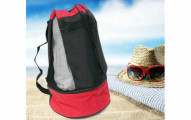Insulated Beach Tote Bag Cooler with Carrying Strap