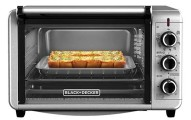 BLACK+DECKER TO3210SSD Countertop Convection Toaster Oven