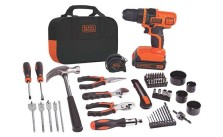 Click to open expanded view Black & Decker LDX120PK 20-Volt MAX Lithium-Ion Drill and Project Kit