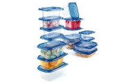 30-Piece Heavy Duty Storage Container Set w/ Color Lids