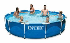 Intex 12ft X 30in Metal Frame Pool Set