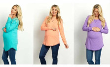 Maternity Accent Tops