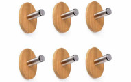 Oak Leaf Heavy Duty Wall Hooks