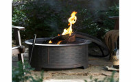 Red Ember Fire Pit