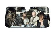 Star Wars Millenium Falcon Accordion Sunshade