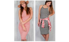 Striped Tank Dresses