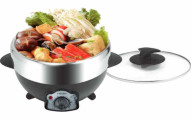 Tayama Electric Shabu and BBQ Grill with Pot
