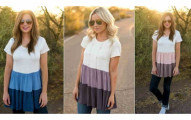 Tiered Babydoll Tunic