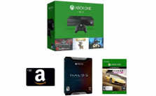 Xbox One 1TB Console - 5 Games Bundle + $50 Gift Card