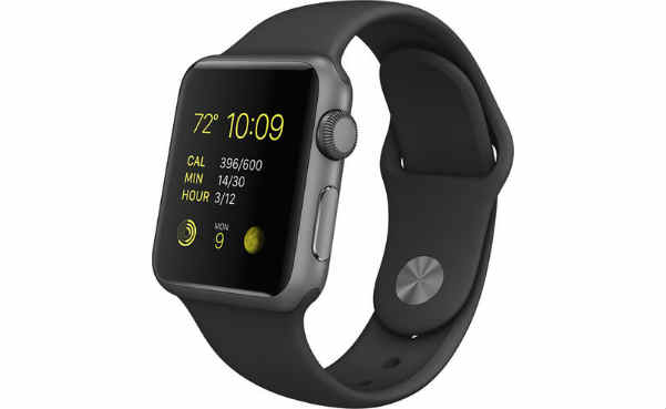 Apple Watch Sport 38mm Space Aluminum Case