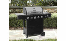 BBQ Pro BBQ Pro 5 Burner Gas Grill with Side Burner