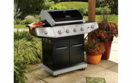 Better Homes and Gardens 4-Burner Gas Grill w/Side Burner