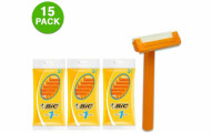BiC Sensitive Disposable Razors (15-pack)