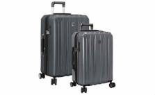 Delsey Helium Titanium Two-Piece Hardside Spinner Set