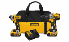 DeWalt 20V XR Lithium Ion Premium Hammerdrill and Impact Driver Combo Kit