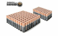Duracell Copper Top Duralock Alkaline Batteries (50-pack)