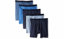 Hanes Men's 5 Pack Ultimate Dyed Boxer Briefs