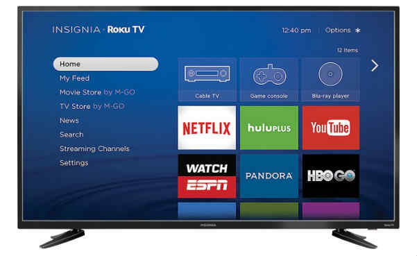 Insignia 48-inch LED 1080p Smart HDTV