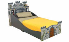 KidKraft Boy's Medieval Castle Toddler Bed