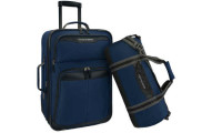 U.S. Traveler 2-Piece Carry-On Luggage Set