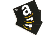 Win a $50 Amazon gift card giveaway