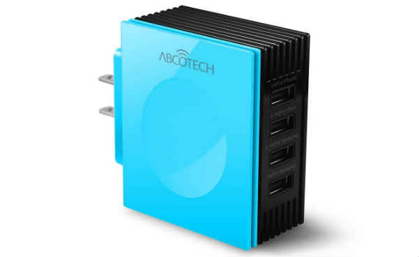 Abco Tech 4-Port Multi USB Wall Charger