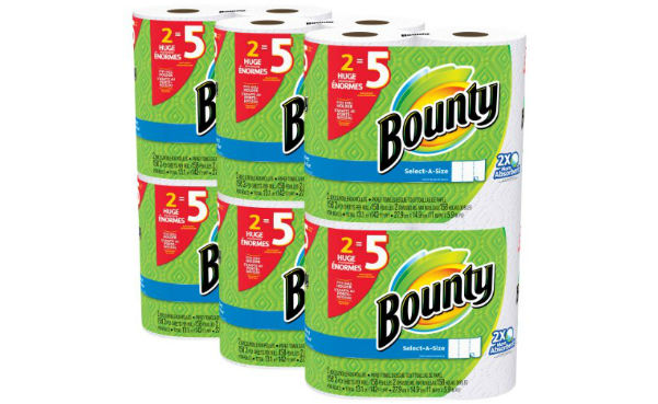 Win a Bounty Paper Towels (12-pack)