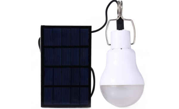 Portable Camping LED Light Solar Energy Bulb Lamp